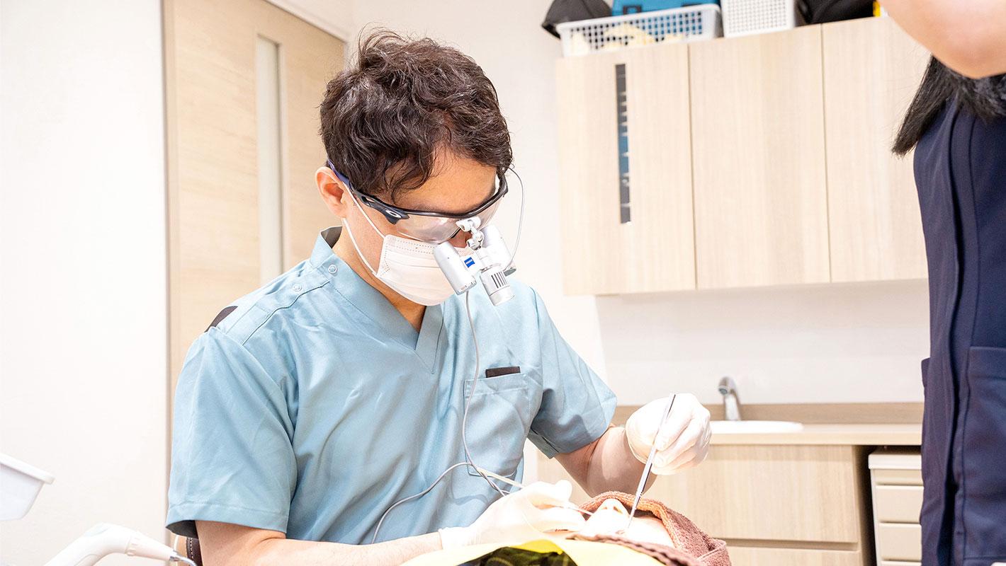 歯の神経を除去しない虫歯治療